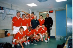 Andy With The Nottingham Forest Team