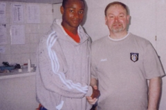 Andy With Chris Fairclough