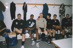 Andy With The Notts County Team
